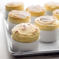 Miniature Grapefruit Souffles with Ginger