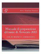 eBook in Internet * Articoli Formativi: Manuale di preparazione all'esame di Avvocato 2015...