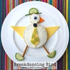 """186 Likes, 25 Comments - iddle peeps ✨Fun Family Ideas (@iddlepeeps) on Instagram: """"Breakdancing Bird is busting some serious moves... To your favourite song! He's even wearing his…"""""""