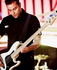 Chris Wolstenholme from Muse. I really dig his playing!