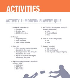 Human Trafficking Activities Guide for Teachers to help quiz and educate their students Slavery Today, Human Trafficking, Cambodia, Art Pieces, Students, Activities, Education, Beauty, Artworks
