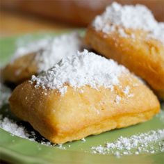Beignets! Right in time for Mardi Gras!