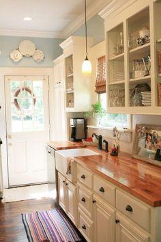 Best Off White kitchen Cabinets Design Ideas (35)