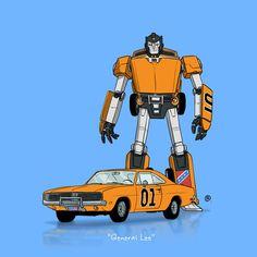 Dessinateur canadien : Darren Rawlings  #Transformers