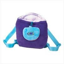 FREE SHIPPING WITHIN THE CONTINENTAL USA  WEBKINZ PURPLE BACKPACK  Let your toddler tote his or her favorite possessions along on any adventure! Corduroy backpack features a fanciful color scheme, adjustable shoulder straps, and a fuzzy front pocket... $15.00
