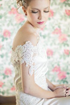 Vestido hermoso de Luisa Nicholls
