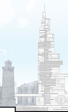 phantom chicago: see the city's unbuilt visionary projects