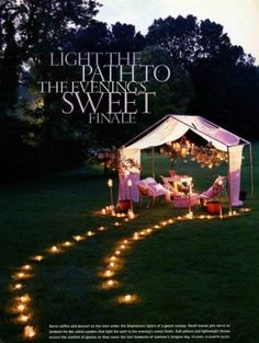 idea for backyard movie nights by benita