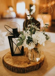 A country wedding in the fall is the perfect match. From a gorgeous barn venue to rustic centerpieces and apple cider, there are so many ways to make the decorations your own.Check out these 7 Country Wedding Ideas for your upcoming Fall Wedding from your Lantern Centerpiece Wedding, Wedding Lanterns, Rustic Centerpieces, Rustic Wedding Centerpieces, Wedding Rustic, Centerpiece Ideas, Wedding Country, Rustic Weddings, Centerpiece Flowers