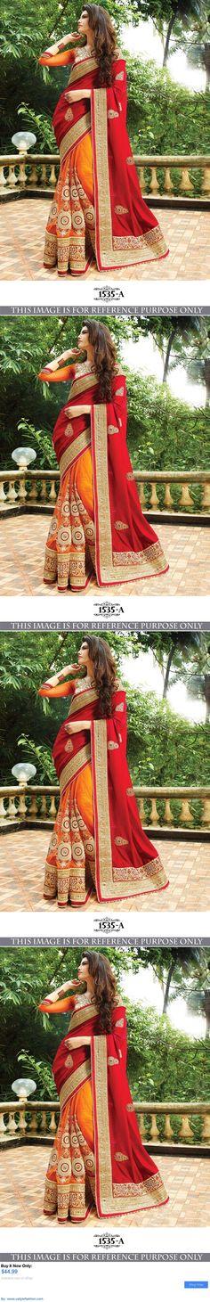 Cultural and ethnic clothing: Bollywood Party Wear Lehenga Indian Designer Wedding Bridal Pakistani Saree Sari BUY IT NOW ONLY: $44.99 #ustylefashionCulturalandethnicclothing OR #ustylefashion
