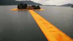 Walking on the Water with Christo and Jean-Claude's 'Floating Piers' in Italy | Yatzer