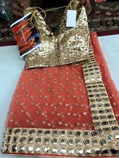 Mirror Work Blouse, Indian Sarees, Dresses, Indian Saris, Vestidos, Dress, Gown, Outfits, Dressy Outfits