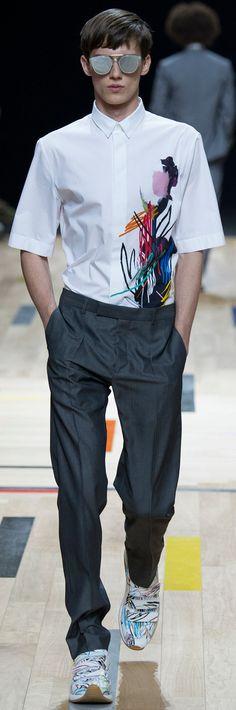 Dior Homme - Spring 2015 www.vogue.com Revival Garment
