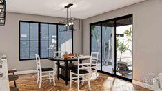 2 Story Modern Farmhouse Style Plan | Mission Bay Narrow Lot House Plans, Family House Plans, Bookshelves Built In, Built In Desk, Pantry Interior, Coastal House Plans, Duplex House Plans, Kitchen Views, Roof Plan