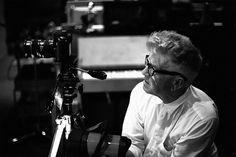 David Lynch at work on the NIN video