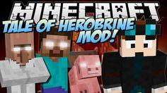 THE TALE OF HEROBRINE | Minecraft: Mod Showcase hello my web site click pls:  http://www.minecraft20.com/  minecraft mods