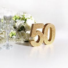Gold 50th birthday party decoration 50th anniversary #papergoods @EtsyMktgTool http://etsy.me/2yTLfFx