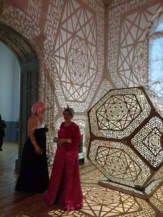 "It's time to make camping swag again! A week or so ago, I went with some campmates to the Renwick Gallery, (which is part of the Smithsonian) in Washington DC. The Renwick is currently hosting an ""Art of Burning Man"" e… Light Art, Lamp Light, Lampe Ballon, Camping Swag, Laser Cut Lamps, 3d Laser Printer, V Model, Cnc Projects, Luminaire Design"