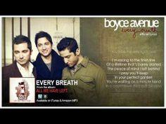 Boyce Avenue - Every Breath (Official Song & Lyrics) on Apple & Spotify My Way Lyrics, Music Lyrics, Music Songs, Music Videos, Boyce Avenue, Spotify Apple, Acoustic Covers, Saved By Grace, Original Music
