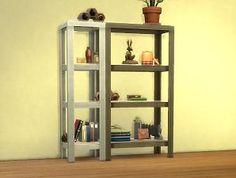 Mod The Sims - RAW Shelves (Decor > Misc)