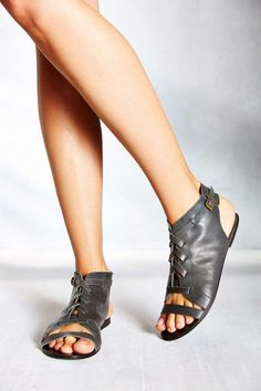 Leather sandals- really cool!