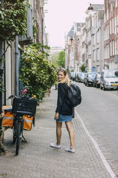 Amsterdam has become a fashion hot spot, whether it's casual or sophisticated styles. Embrace the diversity! STYLE MATTERS. #kmshair #stylematters #streetstyle #amsterdam #inspiration #eclectic