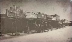 Stagecoach on Allen Street in Tombstone, Arizona