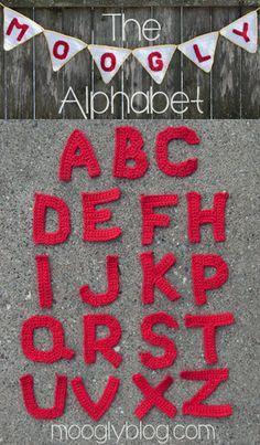 crochet alphabet letters 20+ Best New Free Crochet Patterns and Crochet Tutorials (Mid Week Link Love)