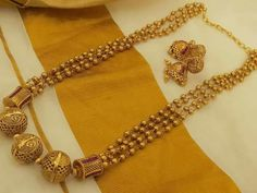 Gold Necklaces online for women, explore styles, find the necklace for you. India Jewelry, Temple Jewellery, Ruby Jewelry, Gold Jewelry, Beaded Jewelry, Indian Wedding Jewelry, Bridal Jewelry, Fashion Jewellery Online, Gold Jewellery Design