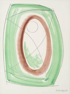 Dame Barbara Hepworth 'November Green', 1970 © Bowness, Hepworth Estate