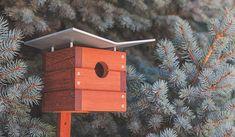 "Birdhouses of the World: Modern ""Ralph"" Birdhouse"