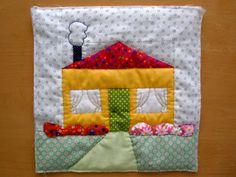 Ada's country life: House blocks - QAL 2015
