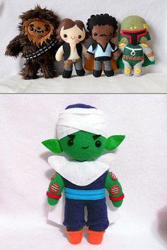 Handmade Plush Dolls for Geeks