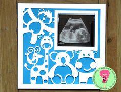 Animal Photo Frame Papercut Template SVG / DFX by DigitalGems