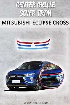 Car accessories for Mitsubishi Eclipse Cross Center Grille Cover Trim. Must have car customization and decoration accessories. Step up your car's look with this car essentials. Available for different makes and models. Must Have Car Accessories, Custom Car Accessories, Decorative Accessories, Car Fix, Car Essentials, Rusty Cars, Mitsubishi Eclipse, Car Pictures, Classic Cars