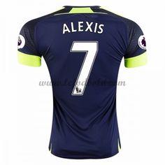 Billige Fodboldtrøjer Arsenal 2016-17 Alexis 7 Kortærmet Tredjetrøje