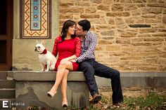 erin & tim #engagement #outfitidea #lacedress
