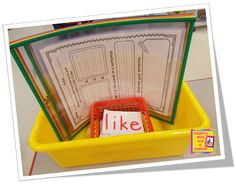 Teaching With Love and Laughter: Reusable Dry Erase Pockets...LOVE!!