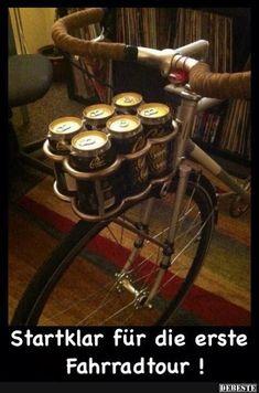 Startklar für die erste Fahrradtour!