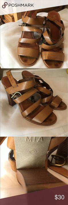MIA leather sandals MIA leather sandals in good conditions MIA Shoes Sandals