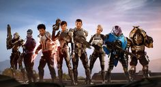 mass effect andromeda   The Crew