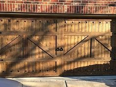Beautiful Customizable Cedar Garage Doors. These are 100% solid wooden garage doors. They are hand made out of Western Red Cedar. You are able to get custom sizes and designs. Please email, call or text me with any questions that you might have. I do have ad's with all the standard sizes. My cell is 817-987-8343 if you would like to chat about how these doors are made and installed. Will call after the order is made to go over details to make sure we get everything right.