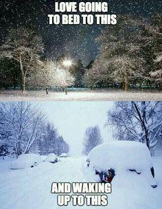 Anfang November und immer noch kein Schnee?! Irgendwas is hier faul