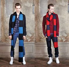Oversized Rugby Scarves Fall 2014