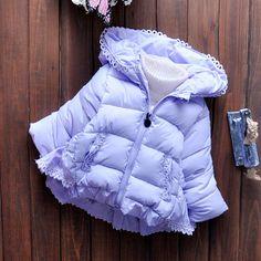 Детские куртки осень-зима из Китая :: Девочек зимние пальто 1-2-3 и половиной лет 0 маленьких девочек сгущаться хлопка куртка младенца мальчика зимних пальто прилив.