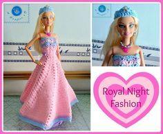 crochet fashion doll strapless gown, crochet fashion doll dress, crochet doll's clothes, crochet fashion doll dress free pattern