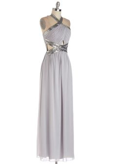Greek Goddess for Halloween type of a dress. Dancing in the Swoon-light Dress, #ModCloth