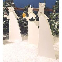 Buy Woodworking Project Paper Plan to Build Wisemen at Woodcraft.com
