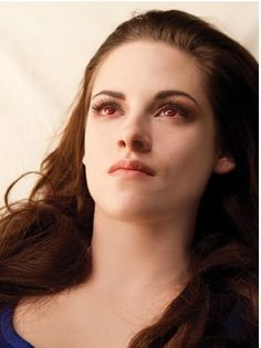 Bella as a vampire... Hopefully she wont be as weird as a Vampire