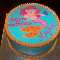 Mermaid cake Pirate Birthday, Mermaid Birthday, Kendall Birthday, 6th Birthday Parties, Birthday Fun, Birthday Ideas, Birthday Sheet Cakes, Nautical Cake, Mermaid Cakes